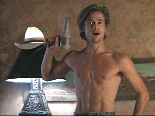 brad pitt thelma and louise. Brad Pitt. From Thelma